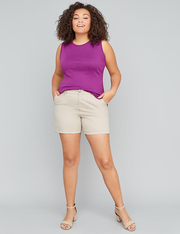 "Girlfriend Chino Short - 5.5"" Inseam"