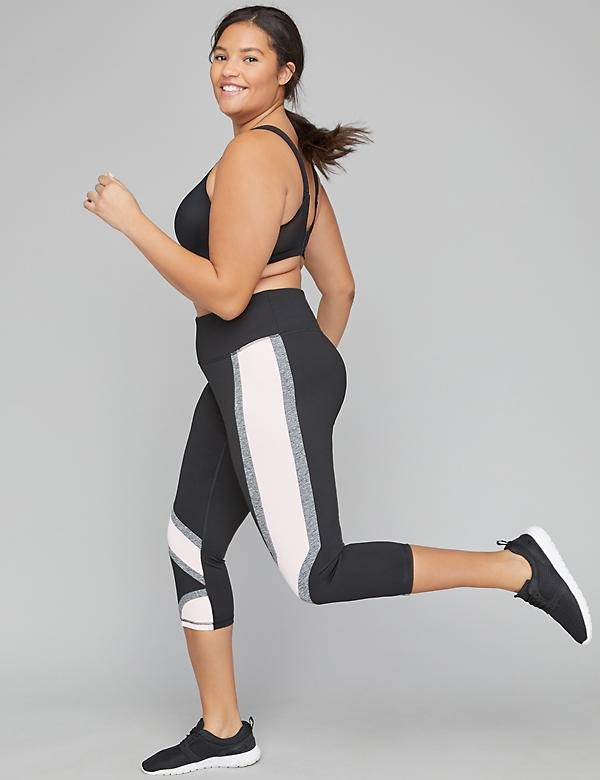 Sculpting Active Capri Legging - Colorblock