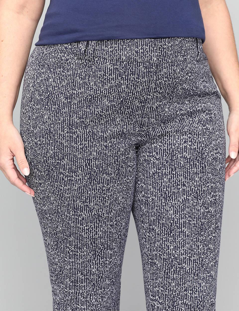 6002b20d60a1 Allie Smart Stretch Crop Pant - Print | Lane Bryant