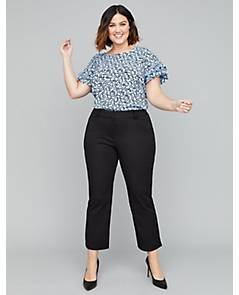 fea0b31a342fe image of Allie Smart Stretch Crop Pant with sku 354156