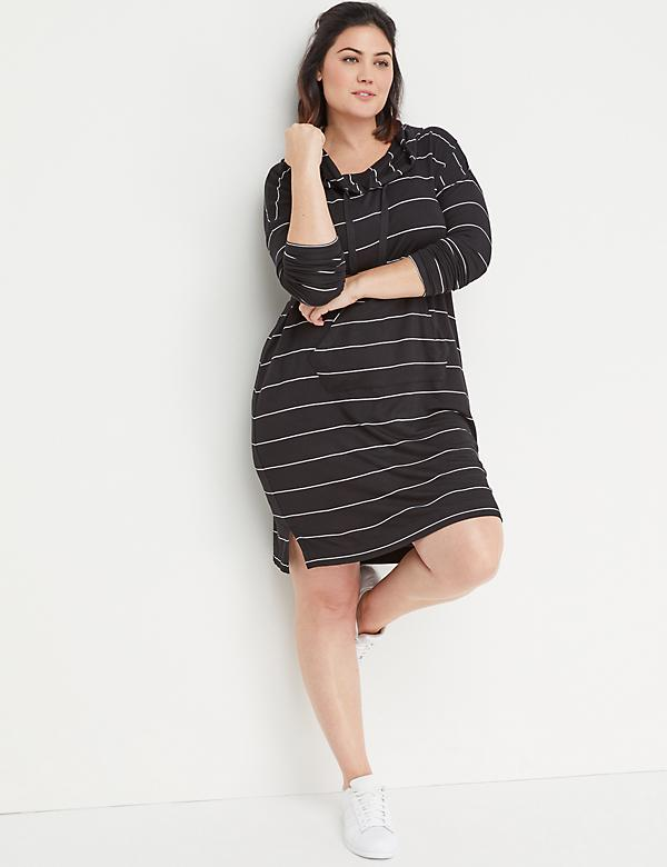 Cowl-Neck Active Dress