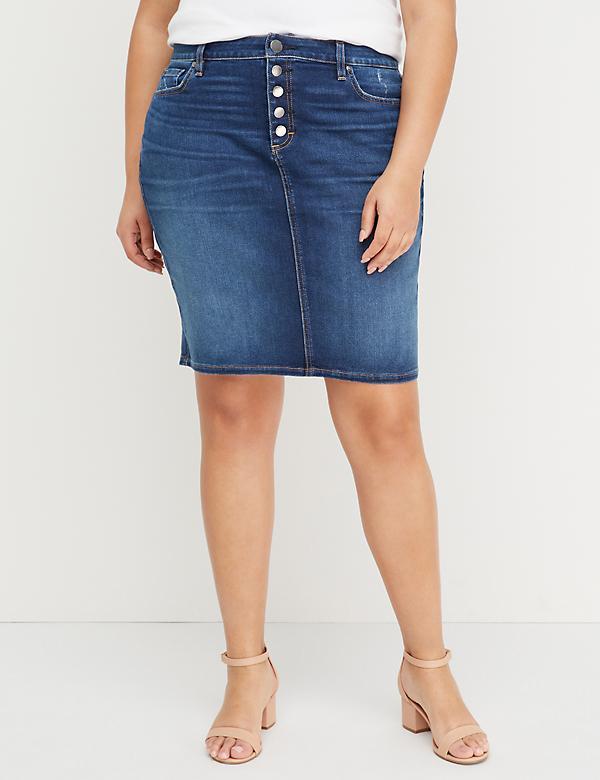 5bbfec5f5 Plus Size Skirts: Maxi, Pencil & Denim | Lane Bryant