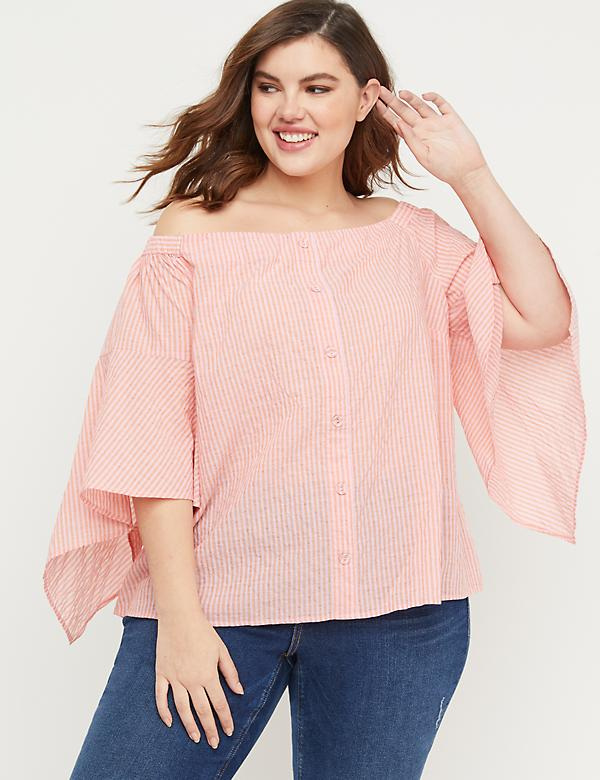 39e5df4f742 Plus Size Women s Blouses   Dressy Tops