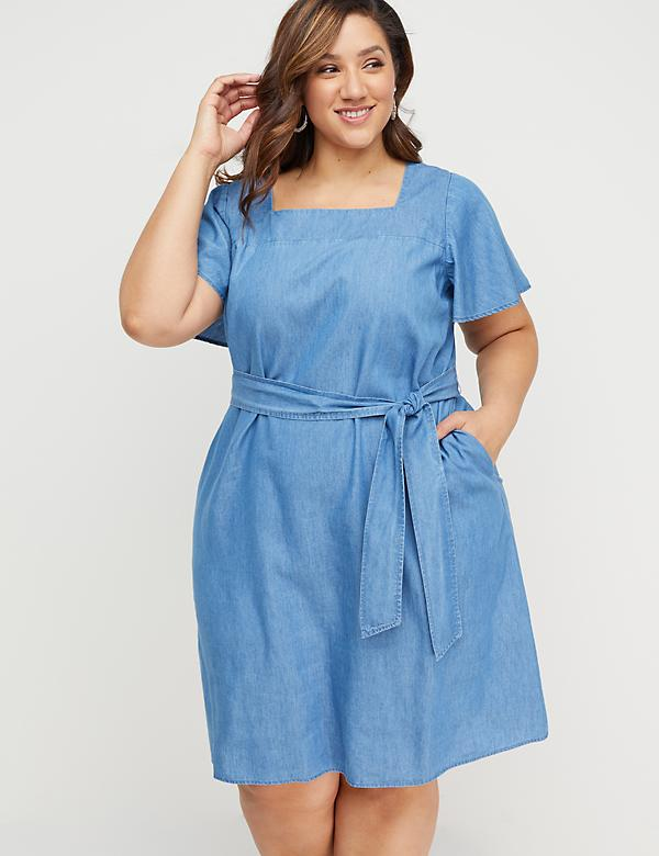 Plus Size Swing Dresses   Lane Bryant