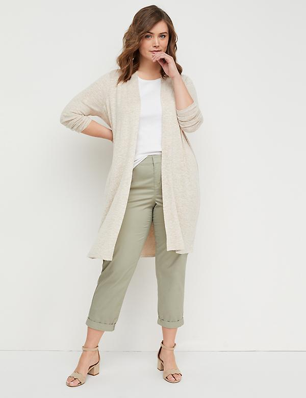 Hacci Duster Sweater