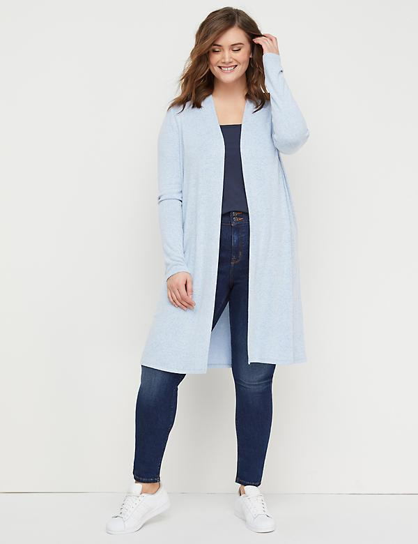 933180b0bf2 Plus Size Sweaters. Hacci Duster Overpiece