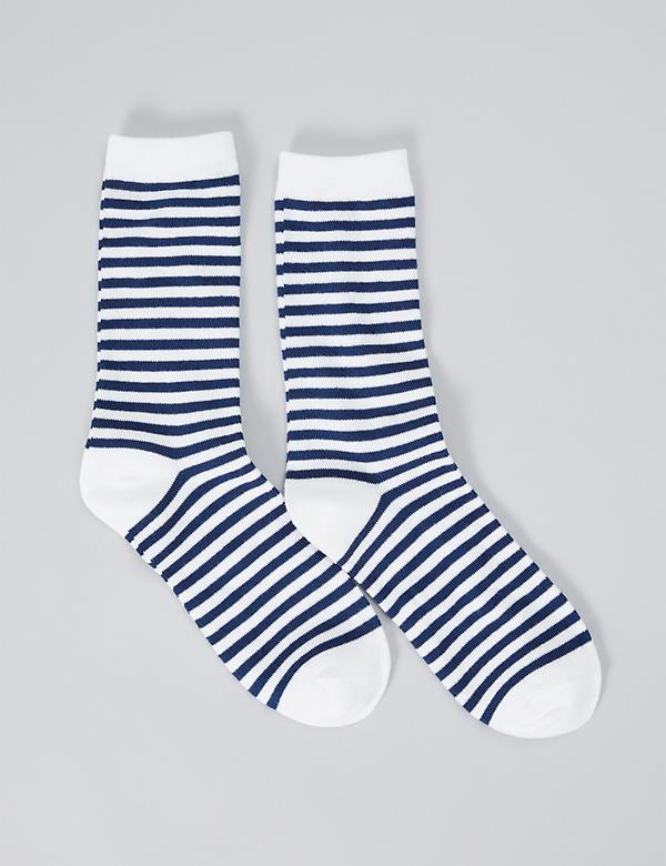 34634531ec7 Graphic Crew Socks - Striped