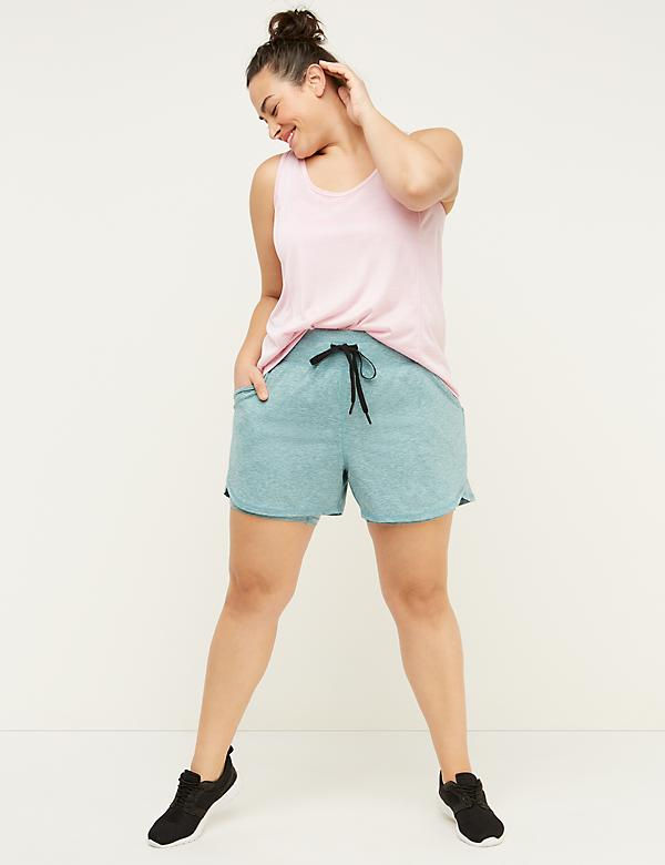 Wicking Layered Active Short - Marl