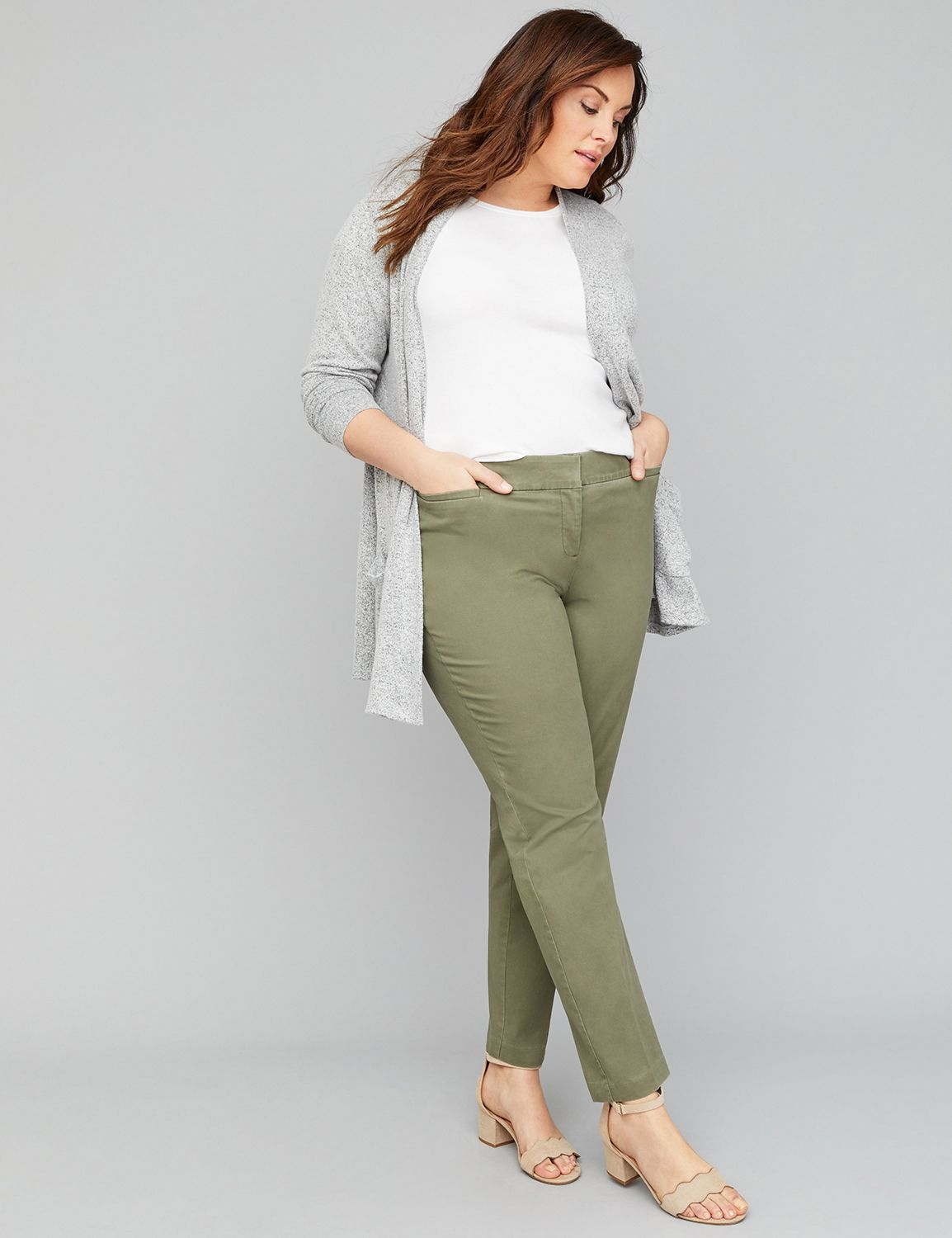 Petite Power Pockets Allie Twill Ankle Pant
