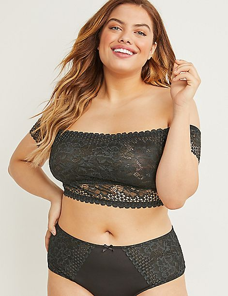 Lace No-Wire Bralette