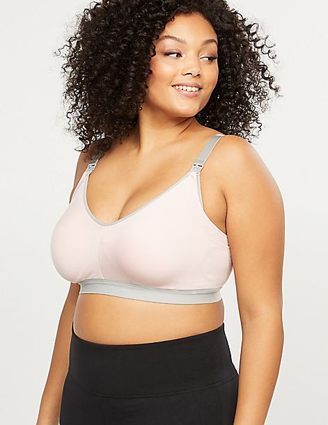 Seamless Lightly Lined Nursing Bra