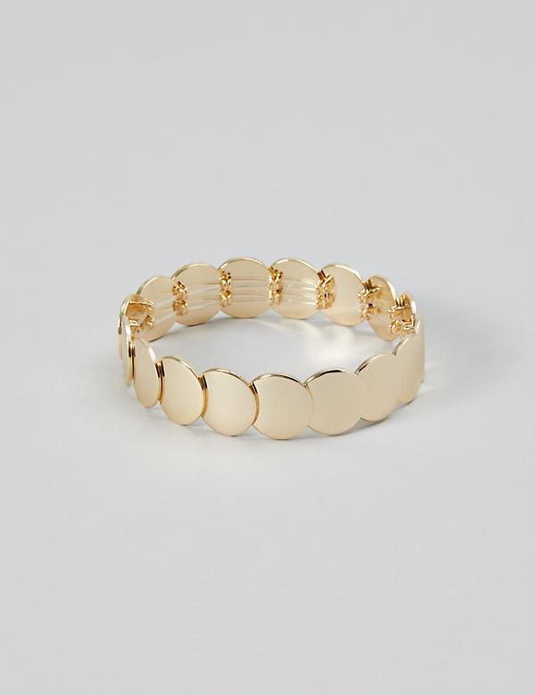 Coin Stretch Bracelet