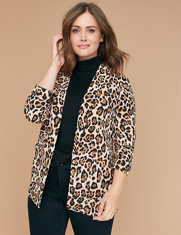 Leopard Print Soft Jacket