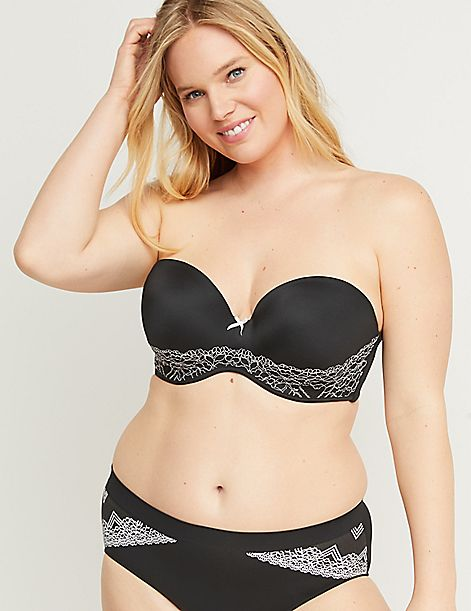 2648d3b08eb04 Multi-Way Boost Strapless Bra With Lace