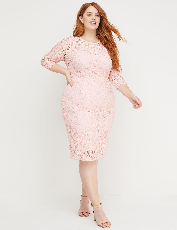Beauticurve Lace Sheath Dress