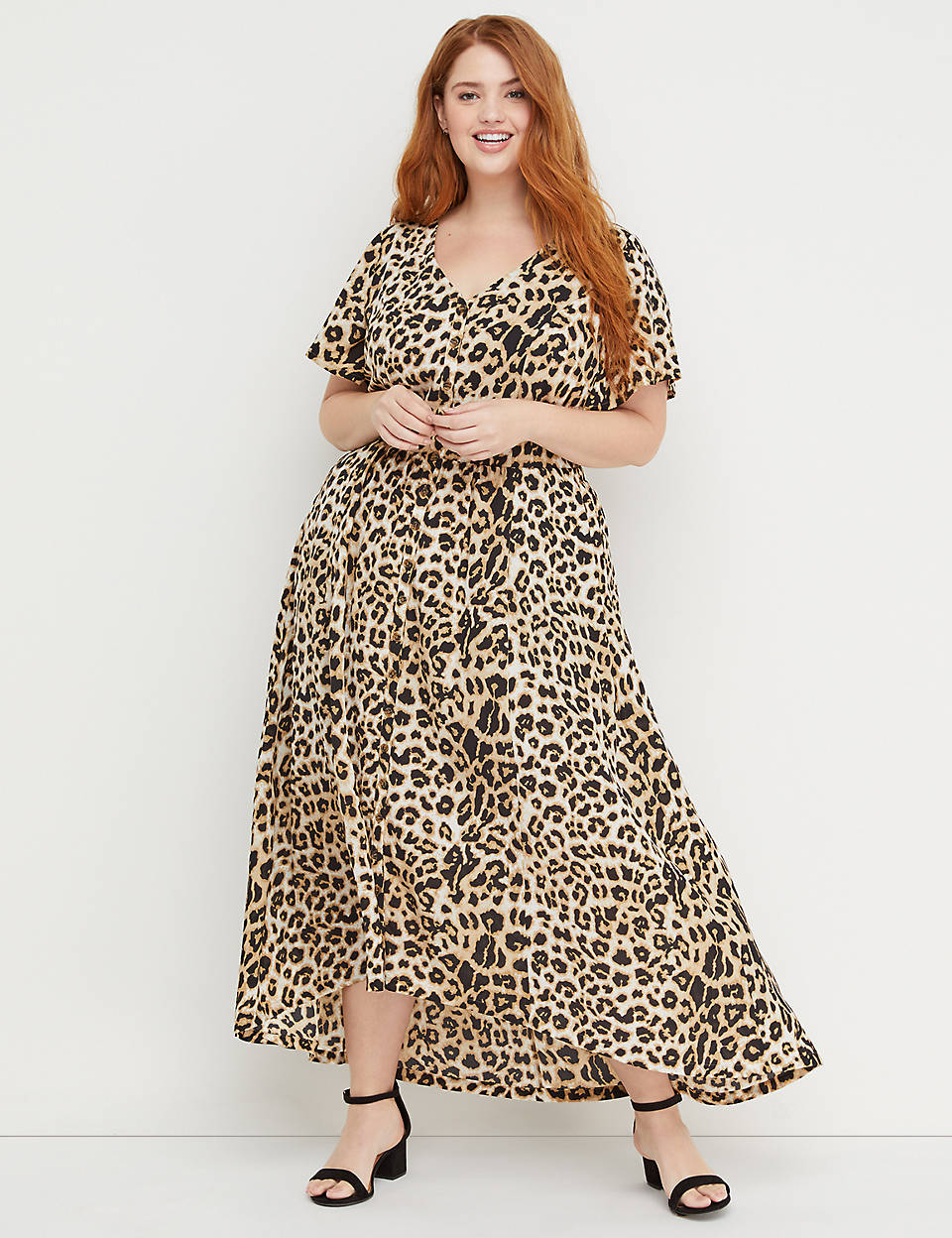 0135e7524fd Beauticurve Animal Print Maxi Dress