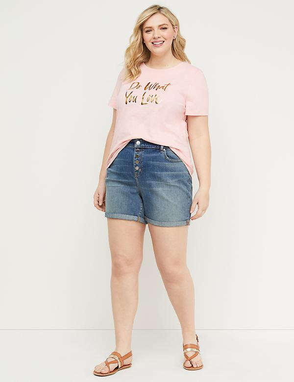 Eco-Chic Do What You Love Graphic Tee