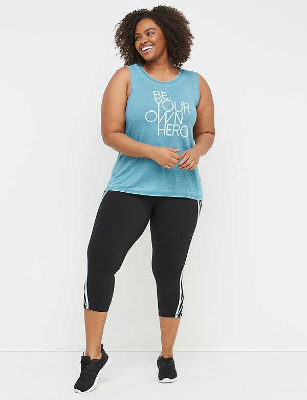 Be Your Own Hero Graphic Active Tank