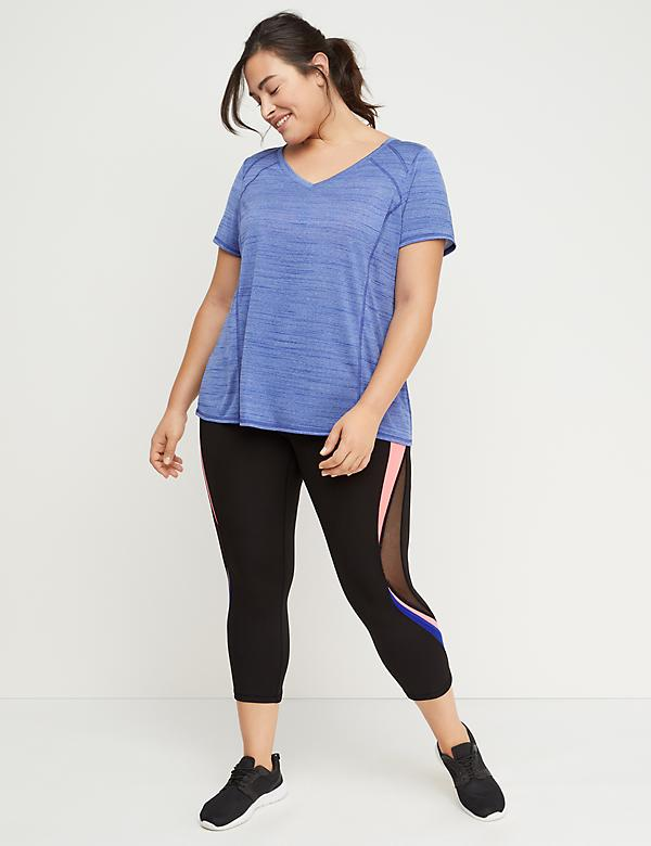 cd4c71359 Wicking Active Capri Legging - Curvy Inset