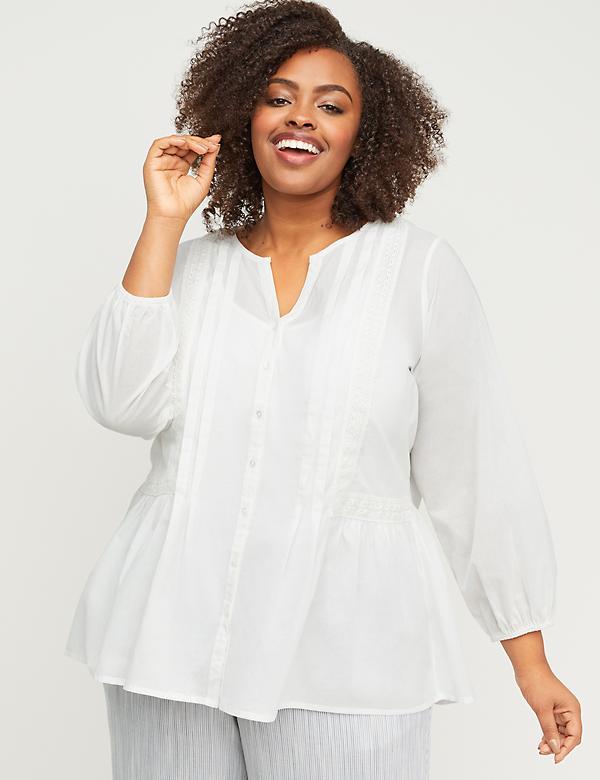 Plus Size Women\'s Blouses & Dressy Tops | Lane Bryant
