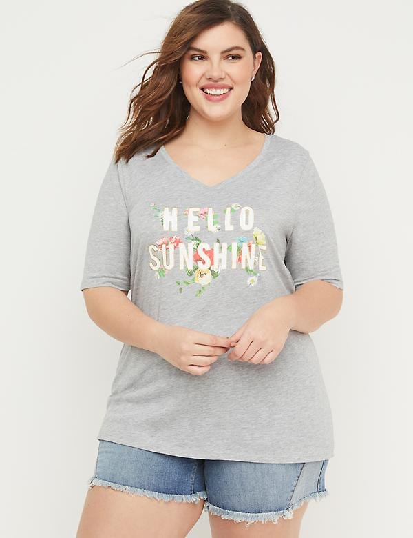 eb3510b7ad2567 Plus Size Graphic Tees & T-Shirts For Women | Lane Bryant