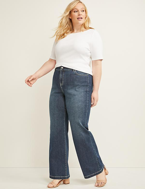 Wide Leg Jean - Dark Wash