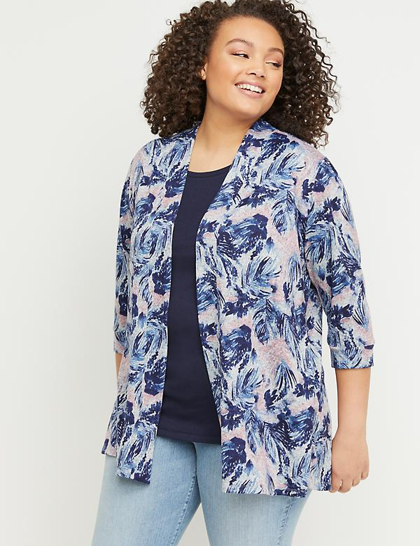 Hacci Floral Overpiece