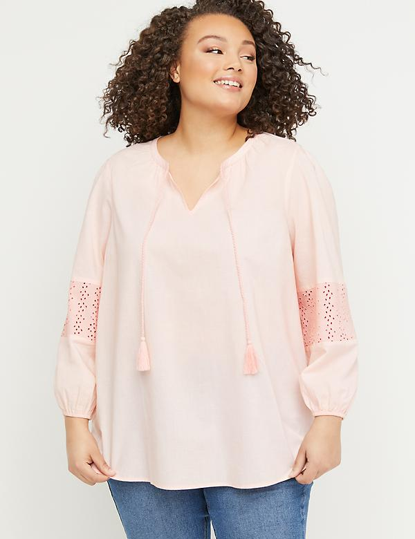 648b429f5bc Plus Size Tunics For Women | Lane Bryant