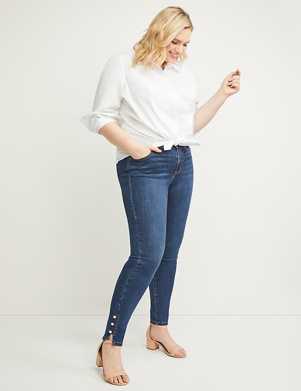 a5522c109 Plus Size Jeans | Skinny, Bootcut, Jeggings & More | Lane Bryant