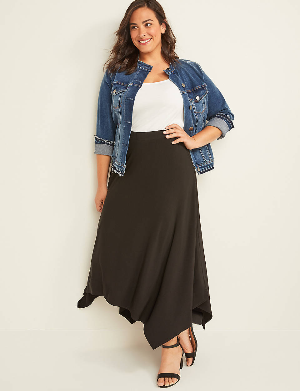 run shoes complete range of articles classic fit Pull-On Maxi Skirt