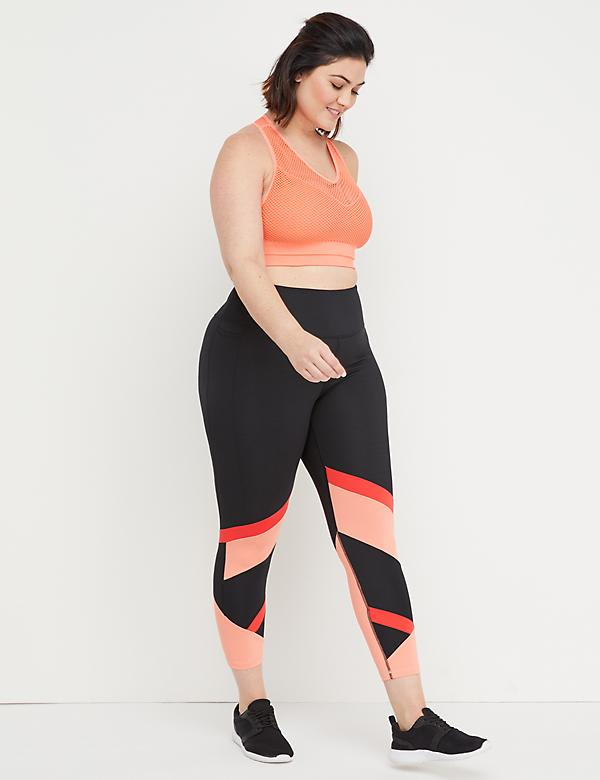 Sculplight Active 7/8 Legging - Colorblock Splicing