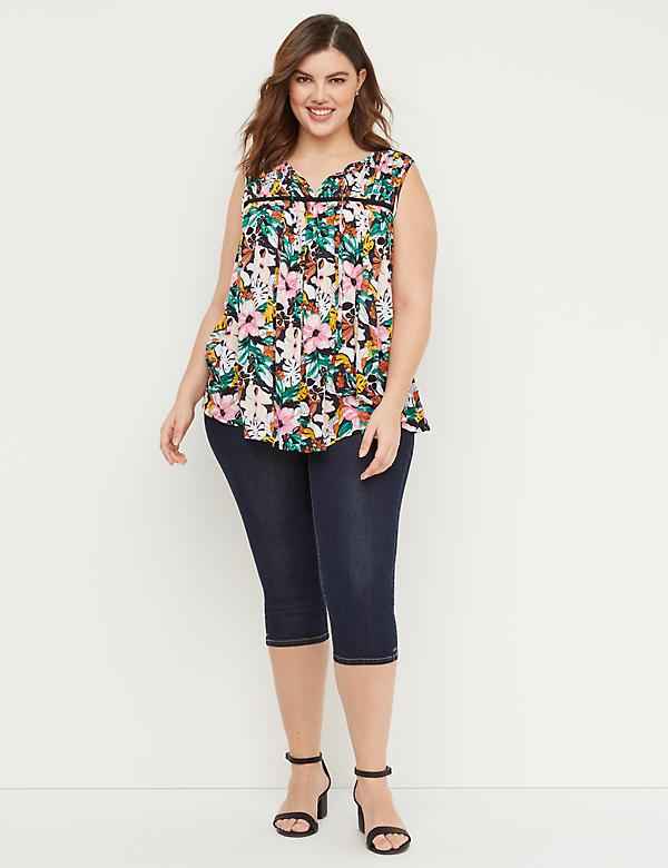 6f30266027 Plus Size Capris And Shorts | Lane Bryant
