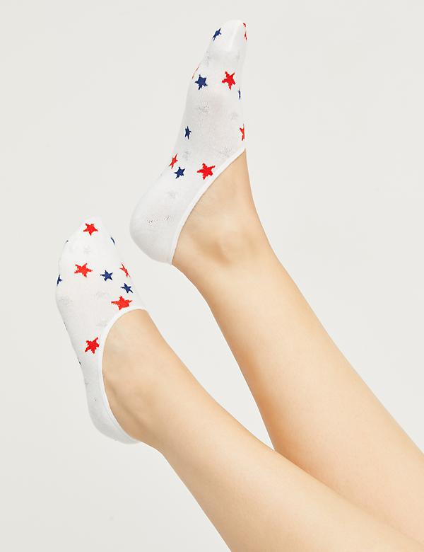 Star No-Show Socks