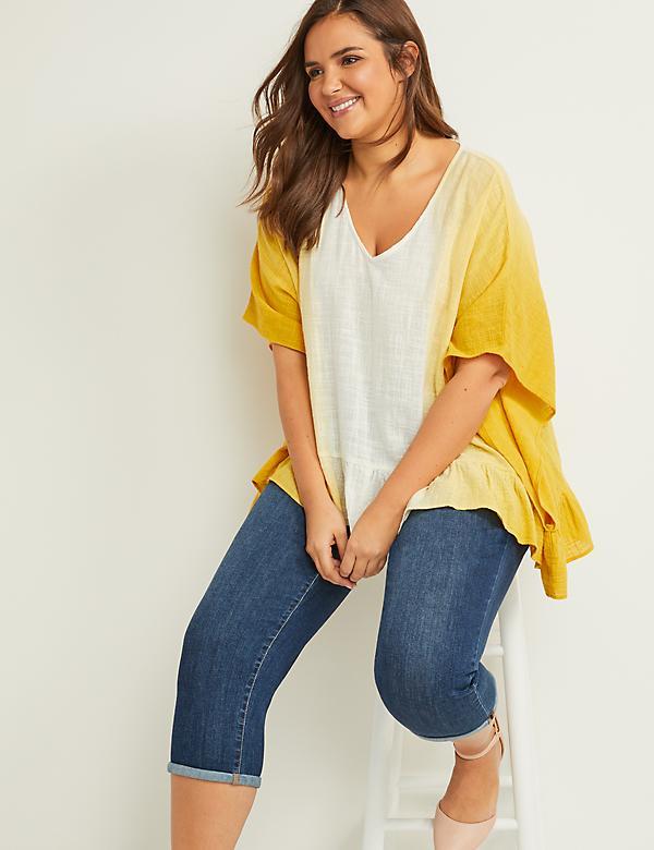 bfdca57a Plus Size Women's Blouses & Dressy Tops | Lane Bryant