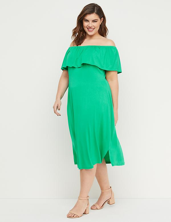 Green Plus Size Dresses | Lane Bryant | Lane Bryant