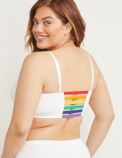 Seamless Strappy-Back Bralette