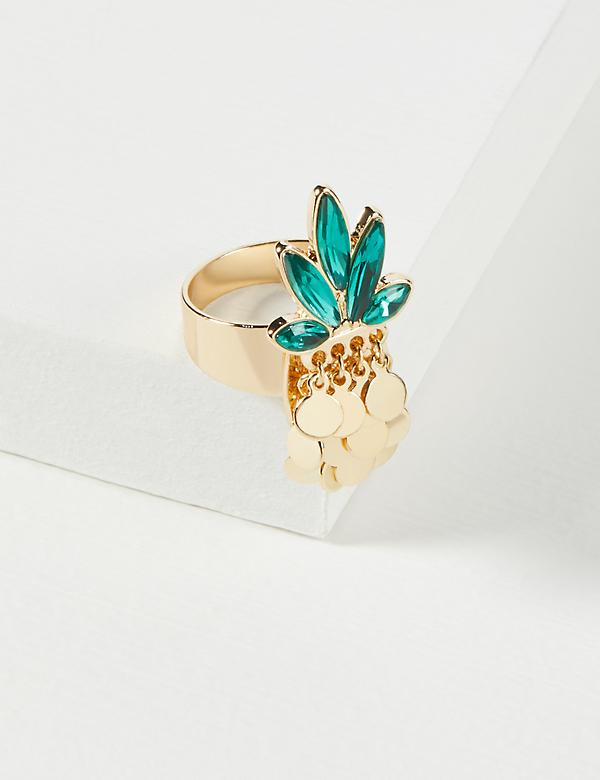 Stone Pineapple Ring