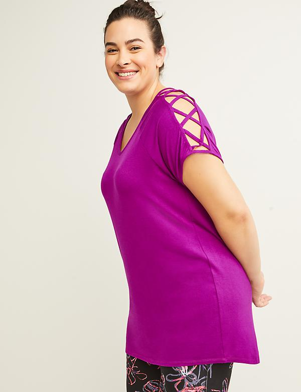 Active Crisscross-Shoulder Top