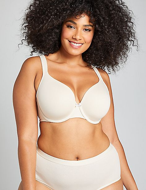7eac0b3d065c Cotton Lightly Lined Full Coverage Bra