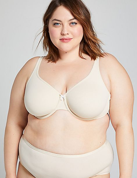 Cotton Unlined Full Coverage Bra