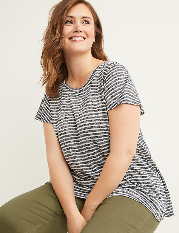 Softest Touch Swing Tee - Flutter Sleeves