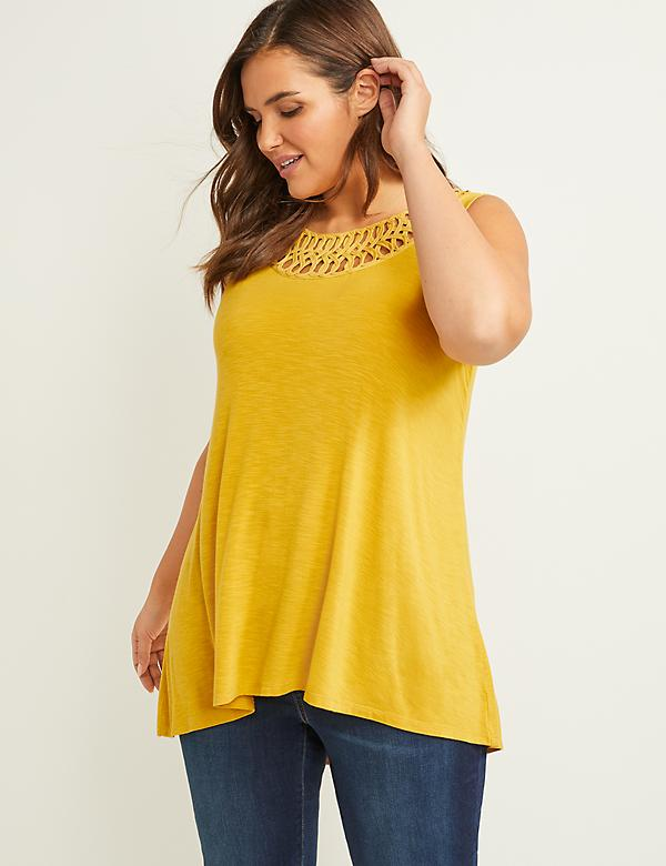 e8fe2cd11797 Plus Size Women's Knit Top & T-Shirts | Lane Bryant