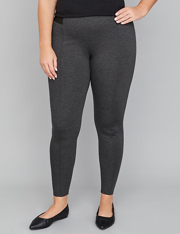 a1acfb19737 Plus Size Leggings. Innersculpt Ponte Legging - Seamed