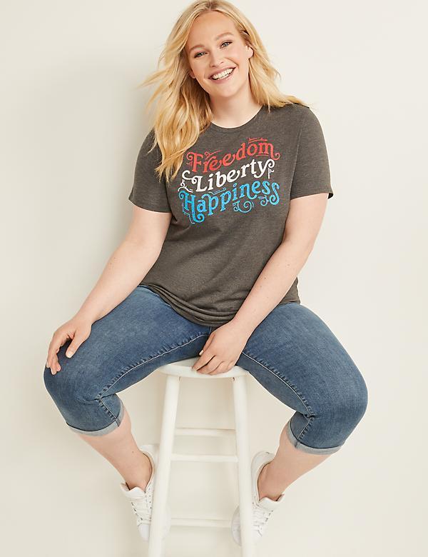 51117cdf Plus Size Women's Graphic Tees & Sweatshirts | Lane Bryant