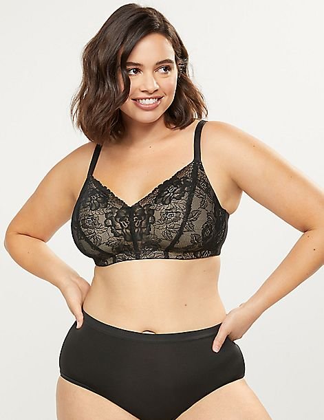 Lace No-Wire Mastectomy Bra