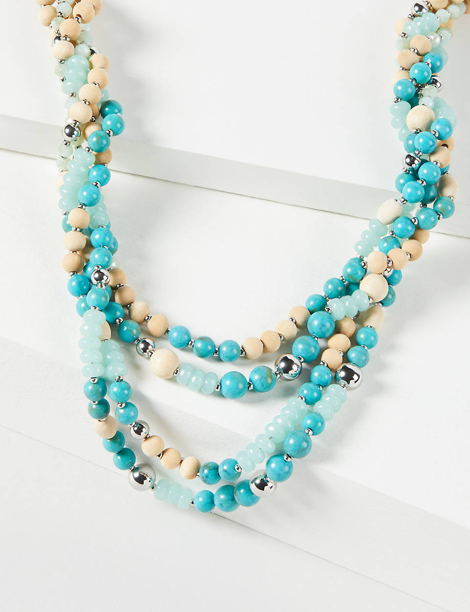 fd150ed16a8c84 Multi-Layer Beaded Necklace | Lane Bryant