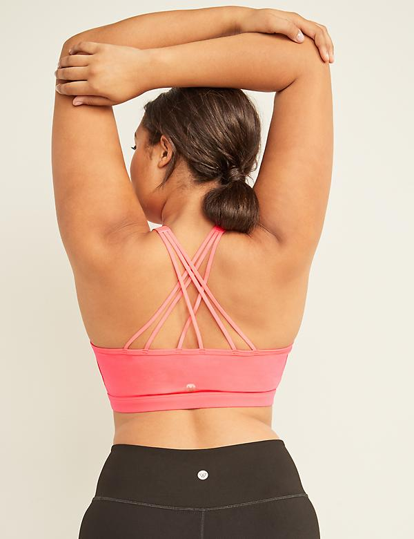 Low-Impact Wicking LIVI Active Sport Bra - Strappy Back
