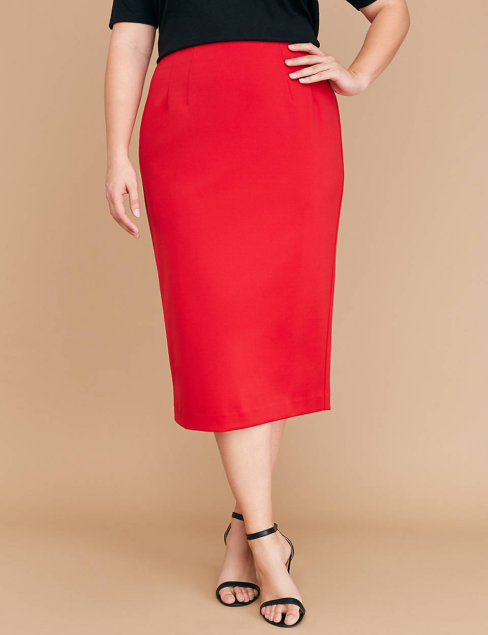 c3cc4af7d16 Scuba Midi Pencil Skirt
