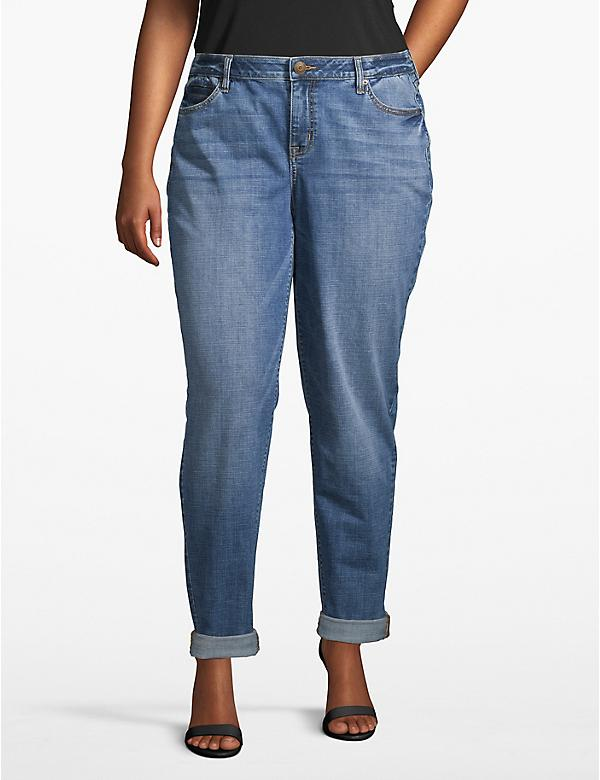 Venezia Girlfriend Jean - Light Wash