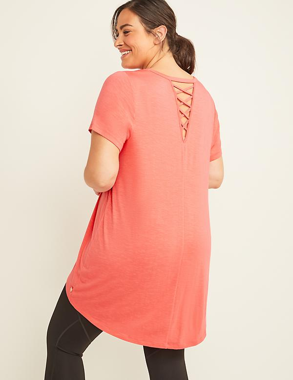 Extreme Hi-Low LIVI Active Tunic Tee